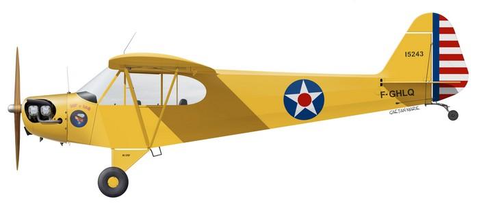 France, J-3C Cub F-GHLQ - no CAF logo