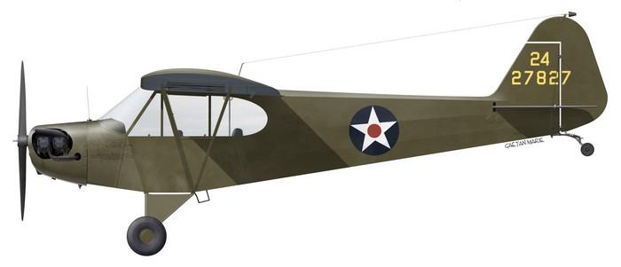 USAAF, Piper O-59, 42-7827