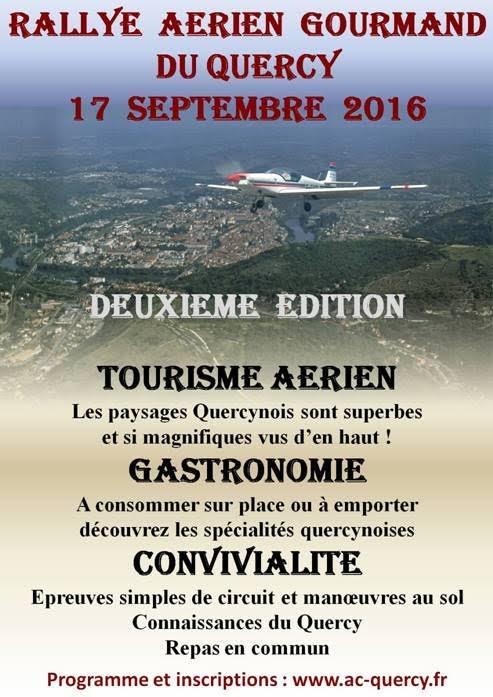 Rallye aérien gourmand du Quercy 2017