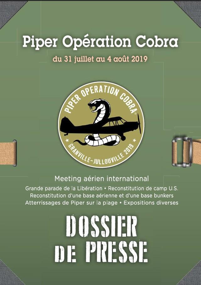Piper Opération Cobra dossier de presse