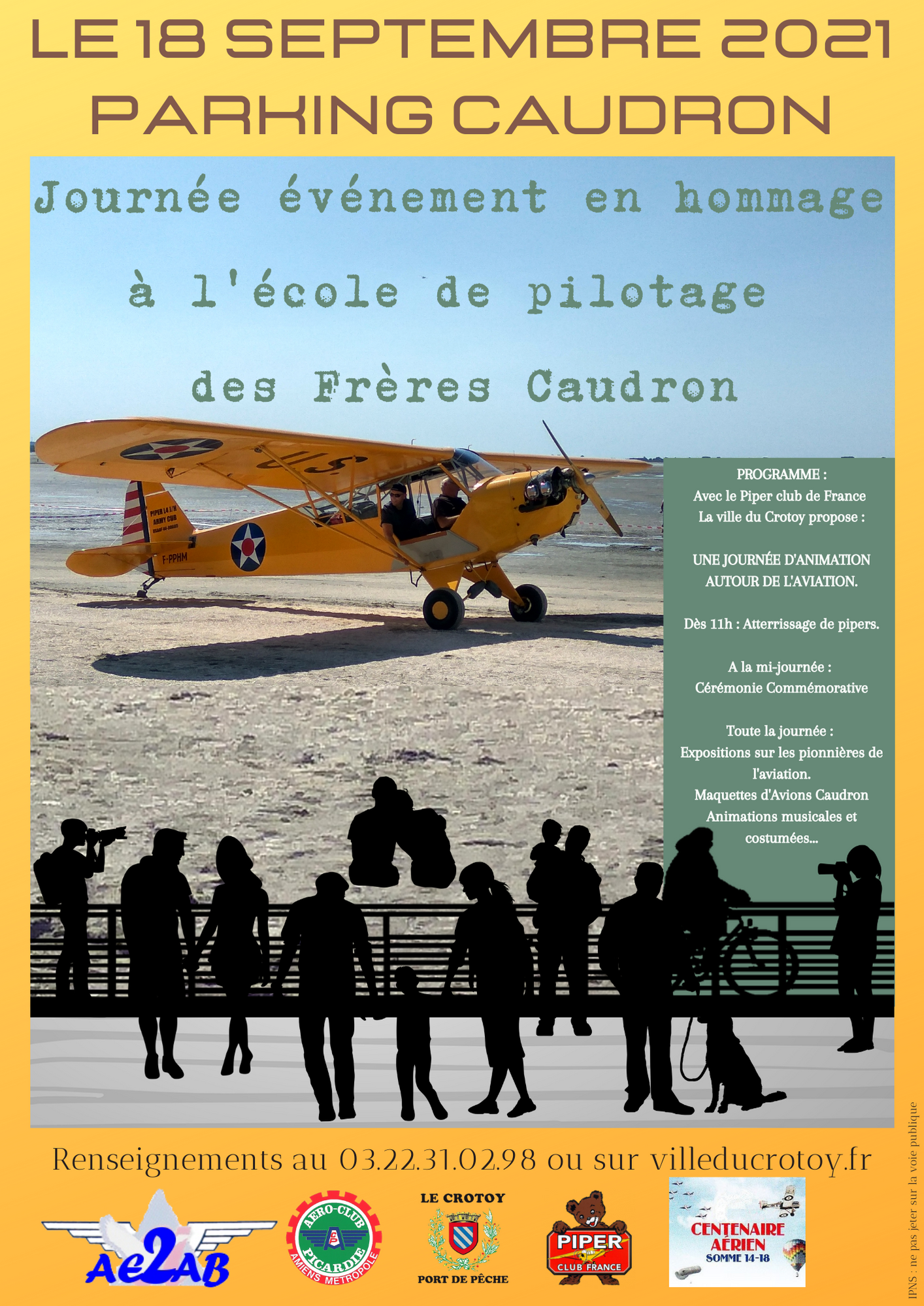 Affiche Pipers 2021