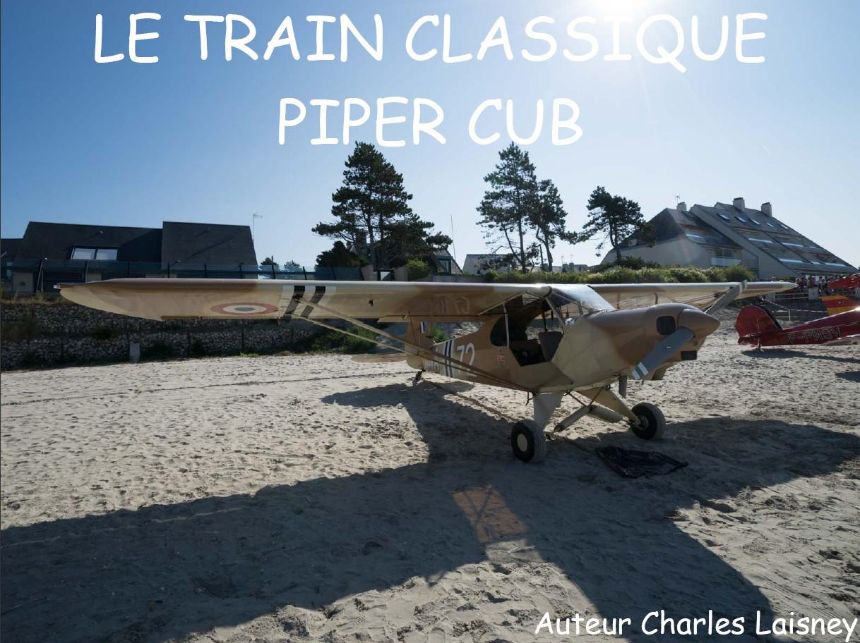 Train classique Piper Cub
